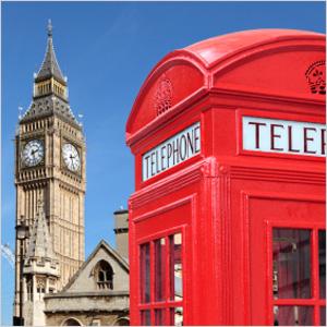 Big Ben at Westminster Palace - London