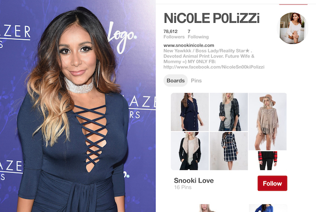 Celebs on Pinterest: Nicole Polizzi