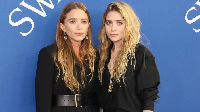 Mary-Kate Olsen and Ashley Olsen attend
