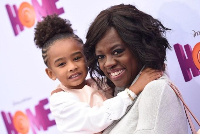 Viola Davis and adopted daughter Genesis