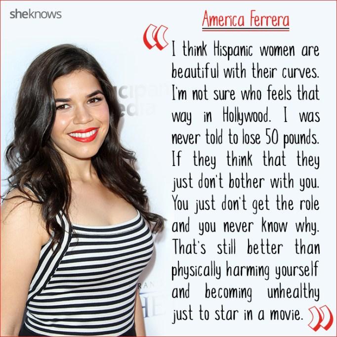 America Ferrera quote