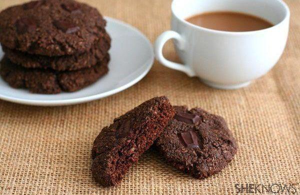 Paleo double chocolate breakfast cookies