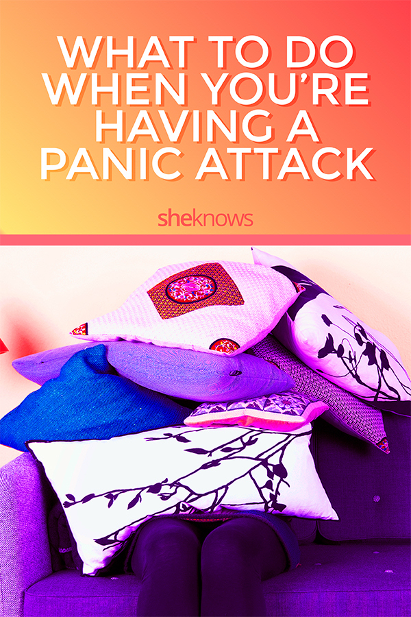 What to do when you're having a panic attack