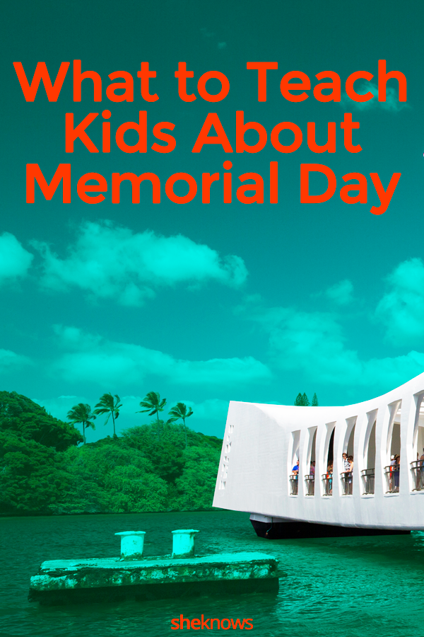 What to teach kids about memorial day