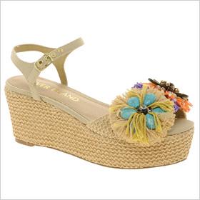 River Island raffia flatform sandals