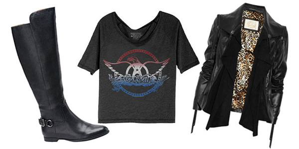 What to wear with black riding boots