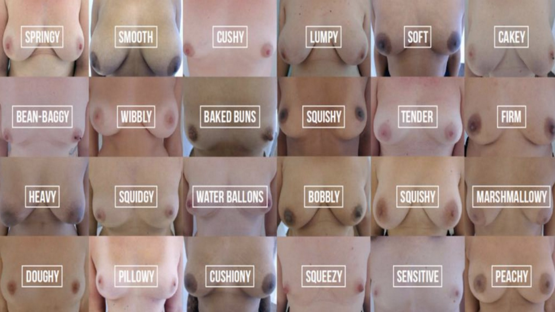 Do you know #whatnormalfeelslike for your boobs?