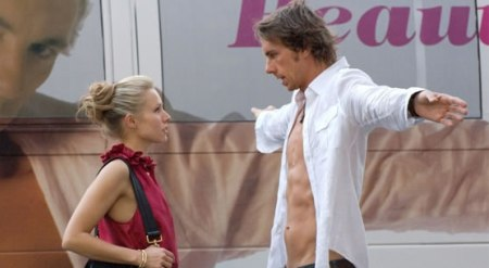 Kristen Bell and boyfriend Dax Shepard in When in Rome