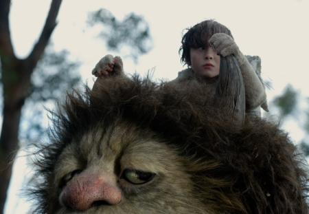 Max and Carol go for a ride in Spike Jonze's Where the Wild Things Are
