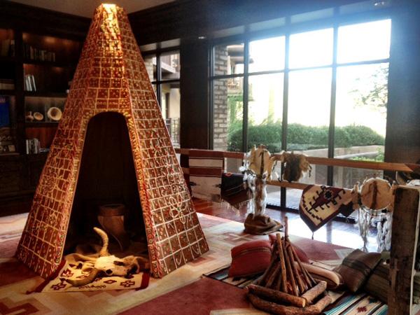 The Ritz-Carlton, Dove Mountain gingerbread teepee