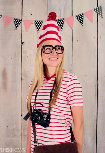 Where's Waldo Halloween costume