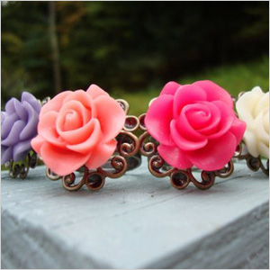 Rose Cabby Rings