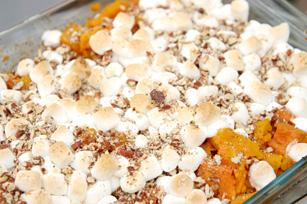 Whipped sweet potato bake