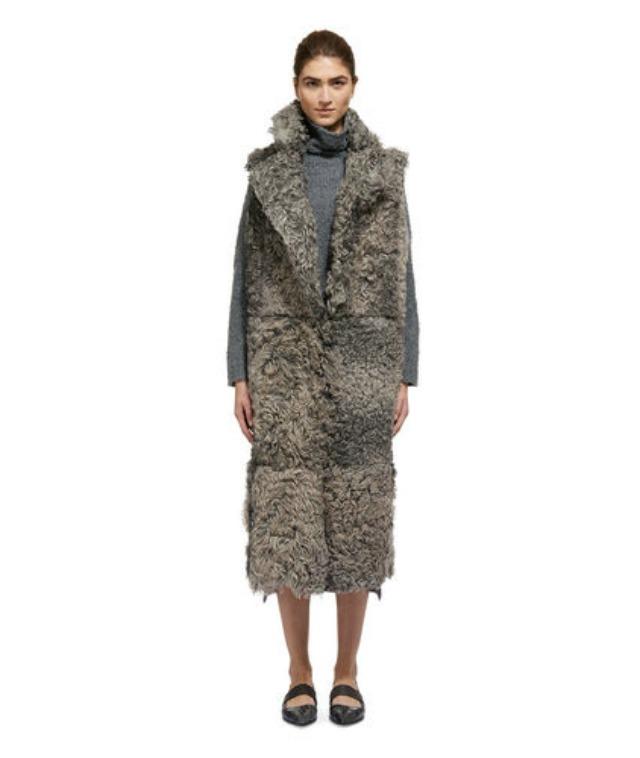Whistles shearling coat