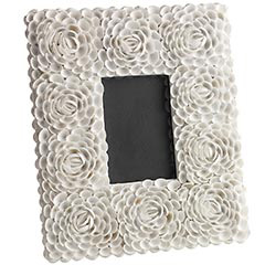 White rose picture frames