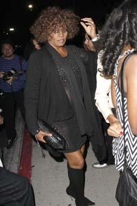 Whitney Houston back in rehab