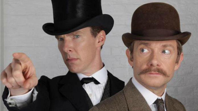 Sherlock/Doctor Who crossover seems inevitable after