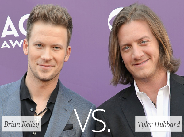 Who's hotter: Brian Kelley vs. Tyler Hubbard (Florida Georgia Line)