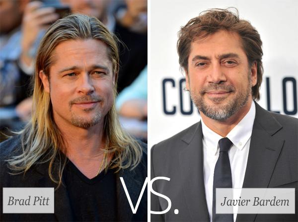 Who's Hotter? Brad Pitt vs. Javier Bardem
