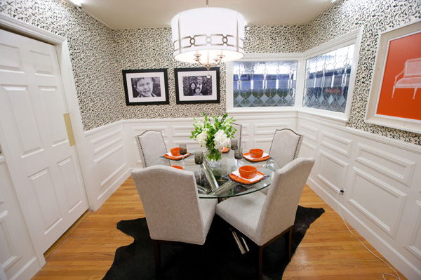 Danielle's dining room