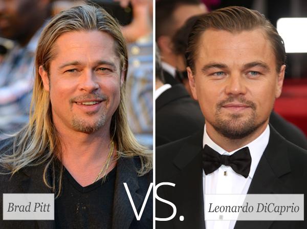 Who's hotter: Brad Pitt vs. Leonardo DiCaprio