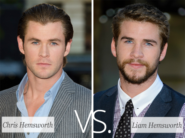 Who's Hotter: Chris Hemsworth or Liam Hemsworth