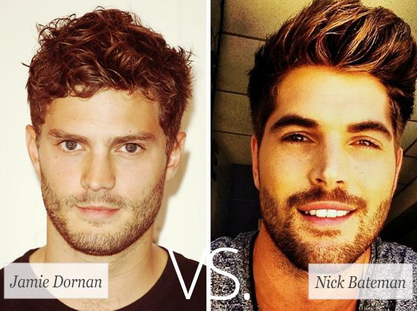 Who's hotter: Jamie Dornan vs. Nick Bateman
