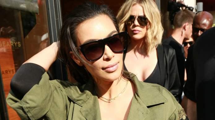 Kim Kardashian West's back & she's