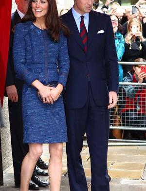 Will and Kate celebrate one-year anniversary