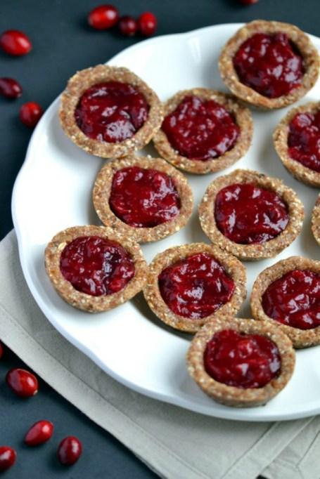 Easy No-Bake Thanksgiving Desserts: Cranberry Jam Tarts