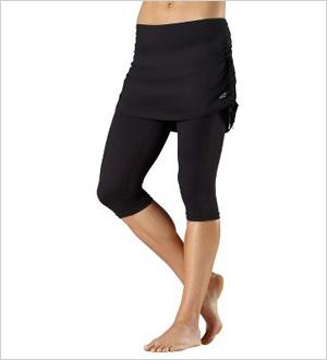 Running skirt with leggings