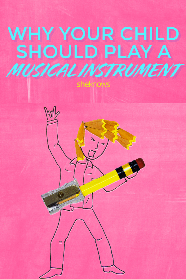 Why your child should play a musical instrument