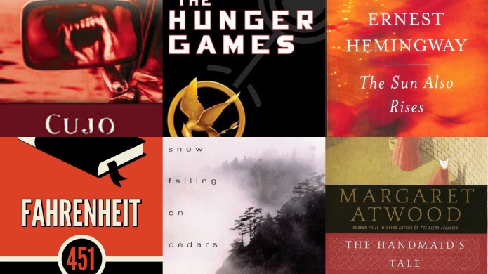 Banned books week: 30 Most popular