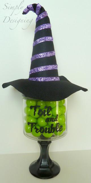 Wickedly Witchy Candy Jar