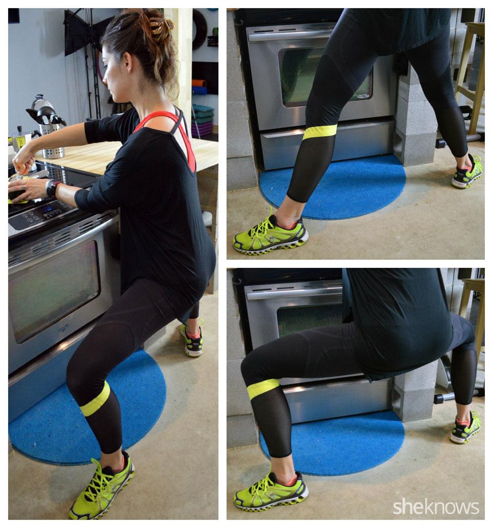 Wide leg squats
