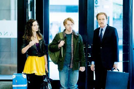 Wild Target stars Emily Blunt, Rupert Grint and Bill Nighy