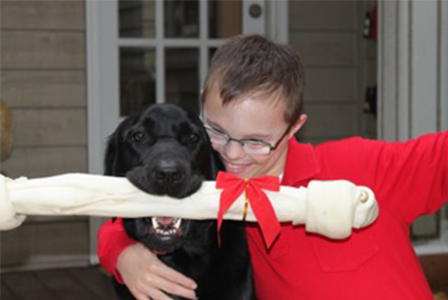 Will and his dog Werner | Sheknows.com