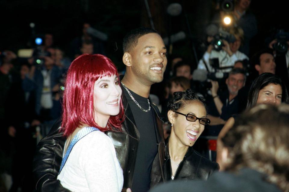 Cher, Will Smith, Jada Pinkett Smith