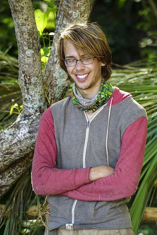 Will Wahl wears his glasses on Survivor: Millennials Vs. Gen-X