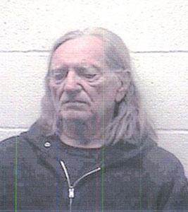 Willie Nelson mugshot