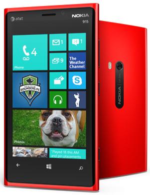 Windows 8 Nokia phone