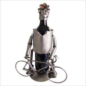 Bicyclist Wine Caddy