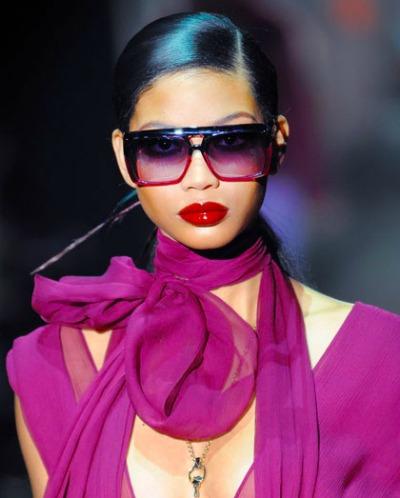 Wine lipstick - Gucci