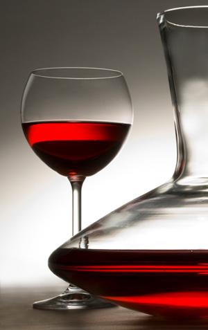 Wine Glass & Carafe