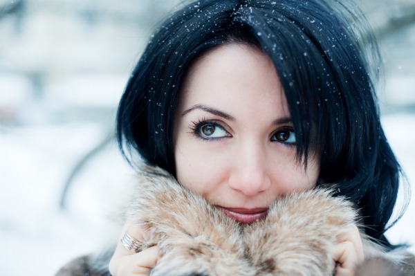 Winter beauty - hair care