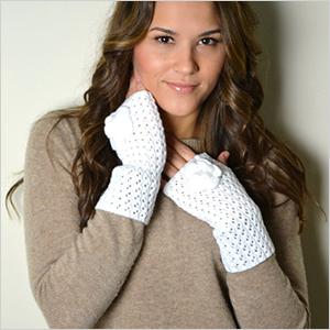Crochet fingerless gloves | Sheknows.ca