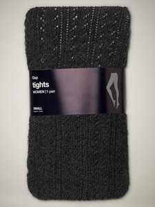 Our pick: Openwork sweater tights (GAP, $20)
