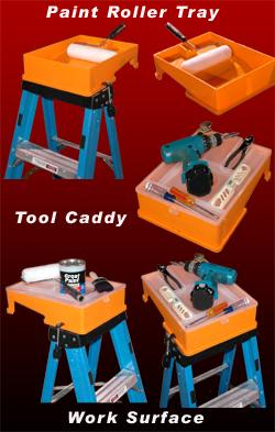 Secure Paint Roller Tray