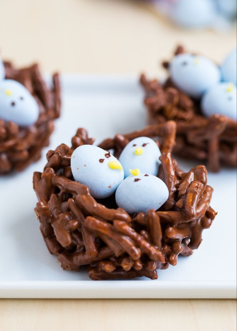 Chocolate Egg Nest Cake