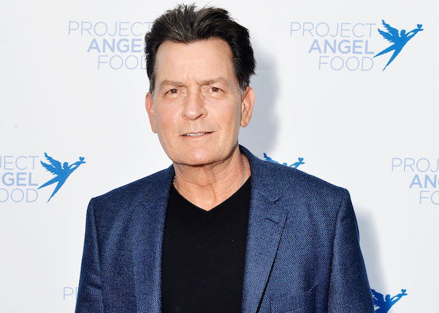 Charlie Sheen attends Project Angel Food's 23rd Annual Angel Art ART=LOVE Benefit Auction at NeueHouse Hollywood
